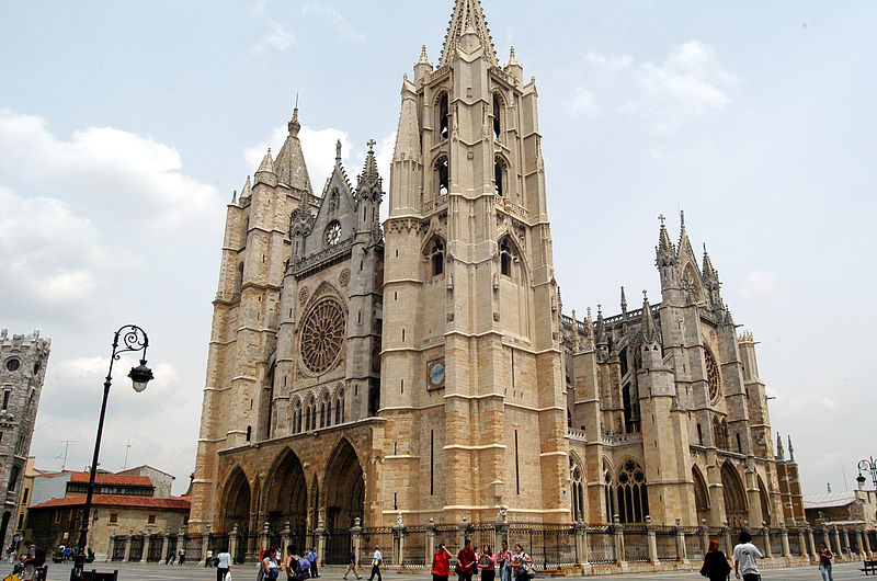 The Gothic Cathedral of Leon