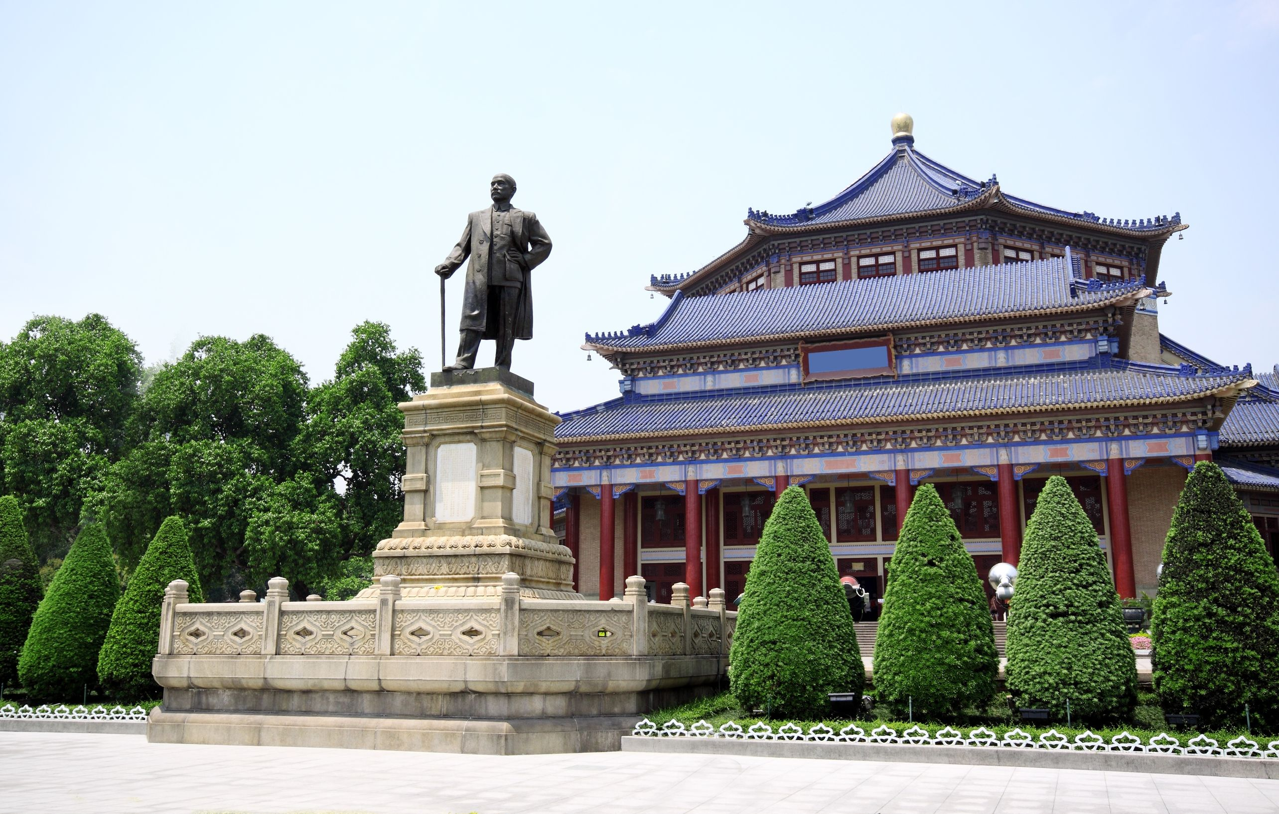 Sun-Yat-sen-Memorial-Hall-in-Guangzhou-China