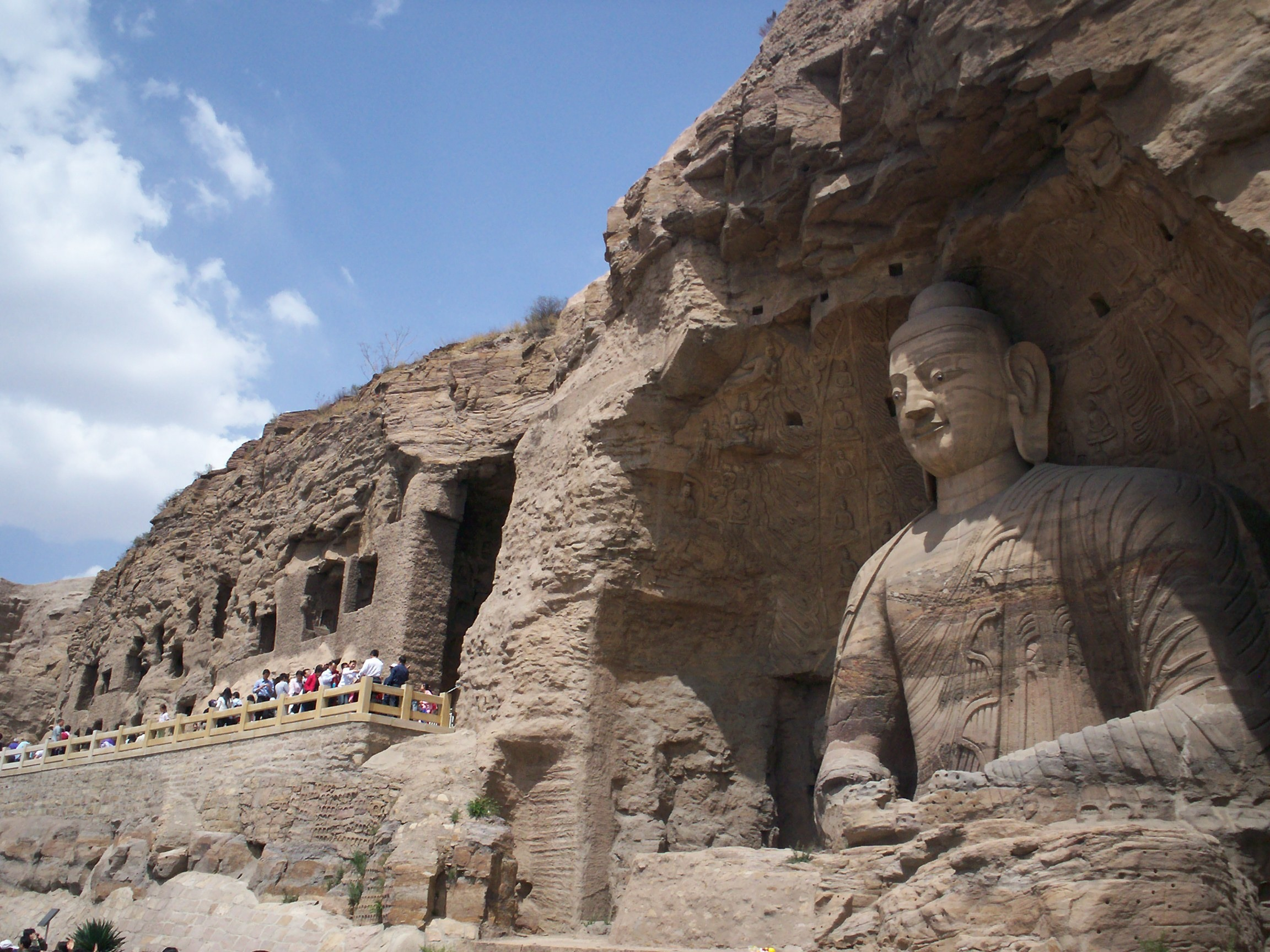 Yungang-Grottoes-China